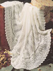 Gorgeous Lacy Baby Shawl 3 ply~ 48