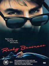 Risky Business DVD 1983 Film Tom Cruise, Region 4 M15+ DRAMA/ COMEDY