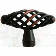 "Cabinet Knob Birdcage Knobs Oil Rubbed Bronze 2"" (1241)"