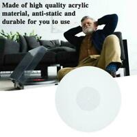 11,6-Zoll-3-mm-Acryl-Aufzeichnungspad Antistatische LP-Vinylmatten-Slipmat U0W8