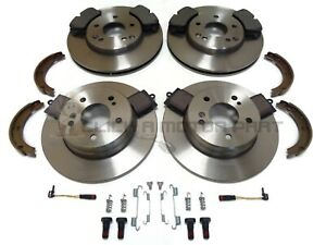 MERCEDES BENZ CLC FRONT & REAR BRAKE DISCS AND PADS SHOES & FITTING KIT SENSORS