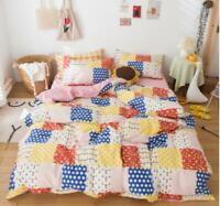 3D Colorful Dots ZHUA3035 Bed Pillowcases Quilt Duvet Cover Set Queen King Zoe