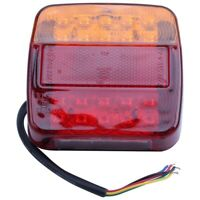 2 x 12v LED Feux Arriere Arret Indicateur Bateau Voiture Remorque Camion et L5A8