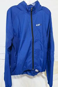 Louis Garneau Modesto Cycling 3 Jacket Men's XL Cobalt Blue Retail $69.99
