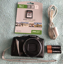 Canon PowerShot SX130 IS 12.1MP Digital Zoom Camera~~Mint~Bundle~16GB SD~~