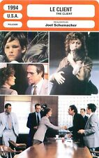 FICHE CINEMA USA LE CLIENT/THE CLIENT Tommy Lee Jones S.Sarandon Joel Schumacher