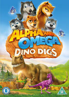Alpha and Omega: Dino Digs DVD (2016) Tim Maltby cert U ***NEW*** Amazing Value
