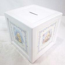 "Piggy Bank Disney Winnie The Pooh Bear Honey Pot Porcelain Rubber Plug 5.5""x5.5"""