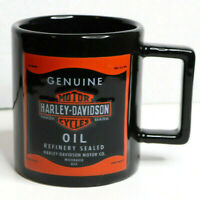 Harley Davidson Genuine Oil Refinery Sealed Milwaukee USA Coffee Mug Cup