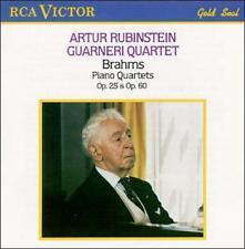 Brahms: Piano Quartets Op. 25 & 60 - CD - Import - **BRAND NEW/STILL SEALED**