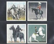 MISTER SOFTEE - HORSES IN THE SERVICE OF MAN - FULL SET OF 12 CARDS