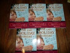 NEW Lot of 5 LAST HOLIDAY CONCERT Andrew Clements GUIDED READING Lit Circle book