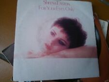 """7"""" SHEENA EASTON FOR YOUR EYES ONLY OST EX++/N-MINT"""