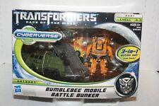 Transformers - BUMBLEBEE MOBILE BATTLE BUNKER - New - CYBERVERSE  NEW- DOTM