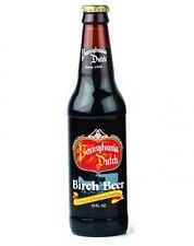 Pennsylvania PA Dutch Birch Beer - 12 BOTTLES - Glass Bottle Soda Pop