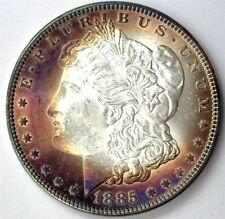 1885 MORGAN SILVER DOLLAR GEM+ UNCIRCULATED NICE COLOR!!