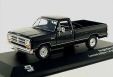 wonderful modelcar DODGE RAM PICK-UP 1987 - black -   1/43 - ltd.Ed.504
