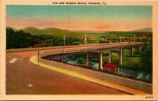 Postcard New Wasena Bridge Roanoke Va.