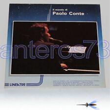 """PAOLO CONTE """"IL MONDO DI"""" RARO LP - SIGILLATO"""