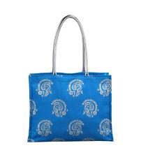 Aashi BLUE TURCHESE COTONE Tote Bag