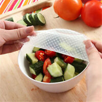 Seal lids FDA approved material Cover Fresh Food Storage Silicone Wraps Stretch/