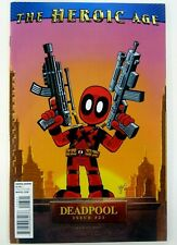 Marvel DEADPOOL (2008) #23 1:15 HEROIC AGE Giarrusso VARIANT VF/NM Ships FREE!