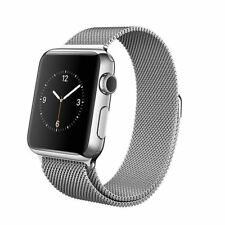 Apple Watch 38mm Stainless Steel Case & Milanese Loop Smart Design