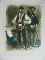 LITHO couleurs d'illustration Lucien FONTANAROSA