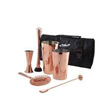 7pc Copper Cocktail Shaker Mixer Set, Bar, Gift Set