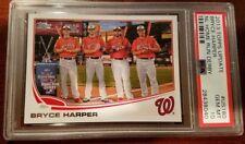 2013 Topps Update NL HR Derby #US180 - Bryce Harper - SP - PSA 10 - Pop 1 of 22