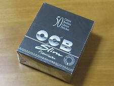 1 Box OCB(50 booklets) 110mm Slim King Size Fine Quality Rolling Paper #1686