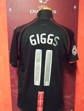 GIGGS MANCHESTER UNITED 2007/2008 MAGLIA SHIRT CALCIO FOOTBALL MAILLOT JERSEY