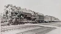 Vintage Locomotive Timken 1111 Railroad Photograph 5x7