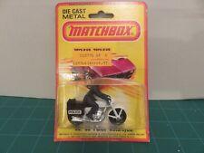 Lesney Matchbox #33 Police Motorcycle 1980 England Die-Cast Metal