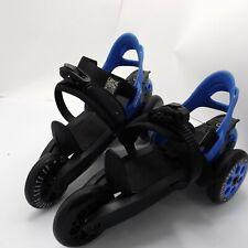 Cardiff Skate Co. Roller Skate Size Large Cruiser Blue and Black
