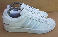 ADIDAS SUPERSTAR ADICOLOR WHITE SERIES TRAINERS IN SIZE 6 UK RARE PEARLESCENT