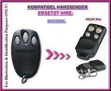 Kompatibel mit Chamberlain 94335E, Liftmaster 94335E ersatz handsender 433,92Mhz