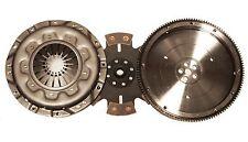 QSC Volkswagen VW Type 4 Clutch Kit 228mm 6-pad Rigid Clutch Disc + Flywheel