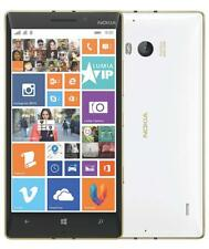 "Microsoft Nokia Lumia 930 Blanc 32Go Windows 10 Écran 5"" Full HD 4G LTE Débloqué"