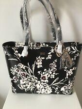 GUESS Black Floral Shopper BNWT RRP £110
