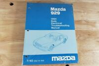 1994 Mazda 929 Body Electrical Troubleshooting Shop Service Manual OEM
