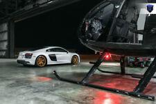 "20"" 20x9 20x11 +33 Rohana RFX5 5x112 GLOSS GOLD STAGGERED Wheels For Audi R8"