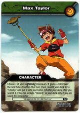 Max Taylor #69 Dinosaur King Alpha Dinosaurs Attack TCG Card (C366)