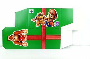 "Taco Bell Promotional ""Nintendo N64"" Gift Box 1997 Mario Bowser Donkey Kong"