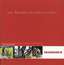 Winora Bike Collection Prospekt 2007 Fahrradprospekt brochure bicycles catalog