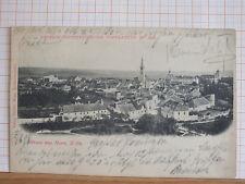 Fotokarte - Gruss aus Horn / NÖ - gel 1898 - Bahnstempel   m3