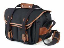 Billingham 225 Camera / DSLR Bag in Black with Tan Trim (UK) BNIP