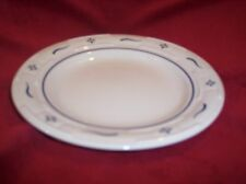 Longaberger Set Of 2 Bread Plates Classic Blue - Retired