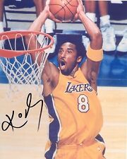 KOBE BRYANT - Los Angeles Lakers Autographed Signed 8x10 reprint Photo !!