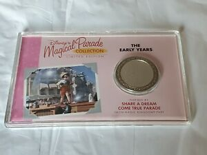Disney Magical Parade Collection Limited Edition Early Years Medal Pinocchi Coin